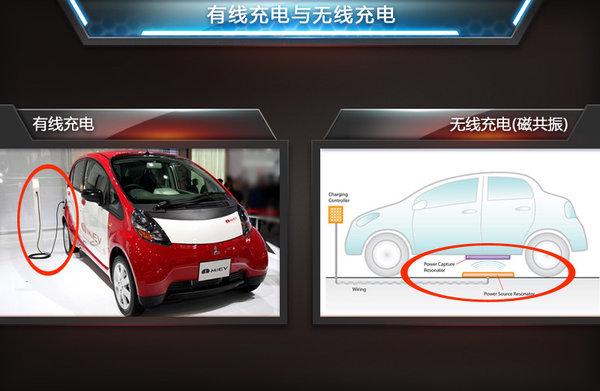 三菱为电动车研发 充电宝 续航里程翻倍高清图片