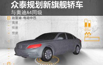 众泰规划新旗舰轿车 与宝马5系同级(图)
