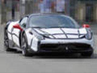 法拉利458搭3.8T 动力提升18%/售价下调