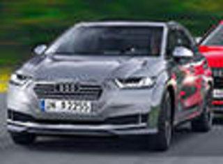 奥迪将推小型电动车竞争宝马i3 图片曝光