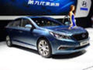 北京现代第九代索纳塔加长 搭增压引擎