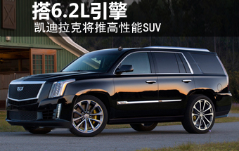 凯迪拉克将推高性能SUV 搭6.2L引擎-图