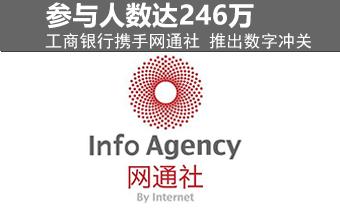 工商银行携手网通社推出数字冲关 246万人参与