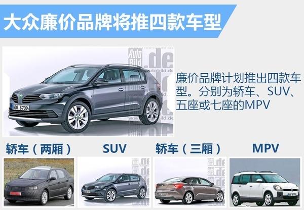 大众廉价品牌将推SUV等4款车 有望新建4S店(图4)