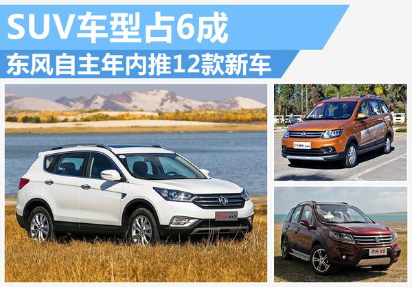 总有你的款 东风自主年内将推7款新SUV车型(图1)