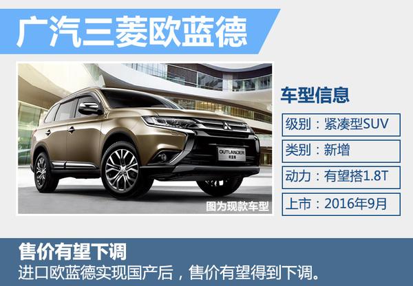 广汽三菱销量持续下滑 年内三款新车将发布(图5)