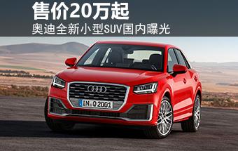 奥迪全新小型SUV国内曝光 售价20万起-图