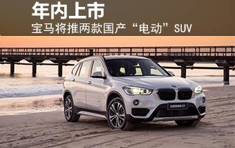 """宝马将推两款国产""""电动""""SUV 年内上市"""