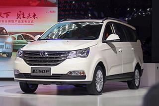 7座MPV也玩增压 北汽威旺M50F售6.78万起