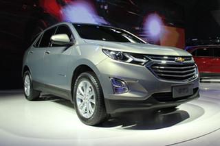 雪佛兰全新中型SUV探界者 将于3月上市