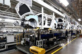 全新悦动的品质保障 参观北京现代三工厂