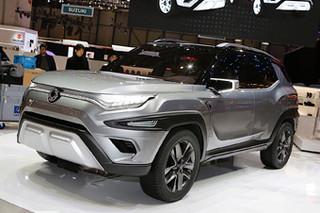 2017年日内瓦车展:双龙XAVL概念车发布