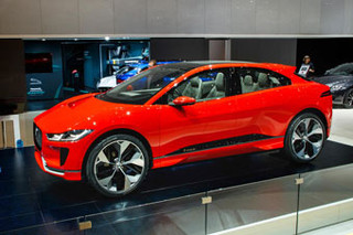 2017年日内瓦车展:捷豹I-Pace纯电动SUV