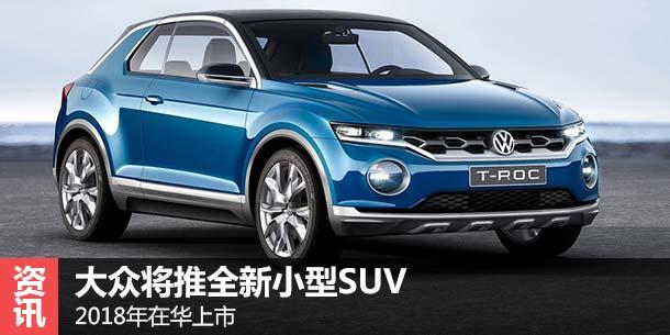 大众将推全新小型SUV 2018年在华上市-一汽 大众 文章 TOM汽车广场高清图片