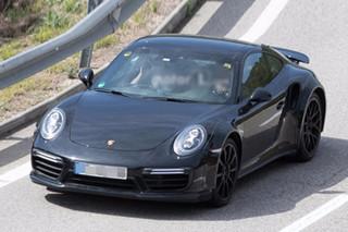 全新911 Turbo首曝谍照 换搭全新发动机