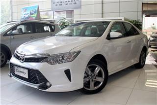 2016款丰田凯美瑞限时促销 最高降2.8万