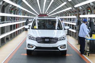 优质生产环境 探访长安汽车两江新工厂