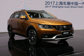 以崭新面貌示人 实拍天津一汽骏派CX65