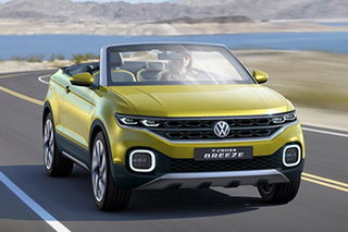 大众新小SUV落户上汽大众 有望明年上市