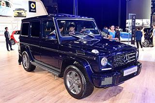 奔驰G级新增两款车型 售132.9-179.8万