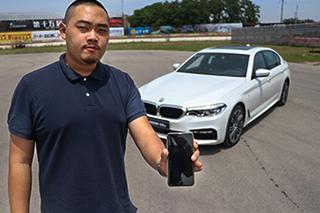 前卫的怪兽 体验全新一代BMW 5系黑科技