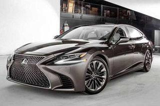 雷克萨斯推全新LS性能版 搭全新V8引擎