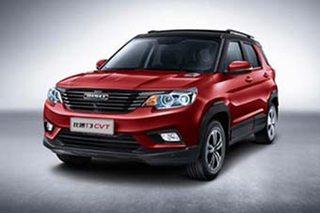 比速T3-CVT车型正式上市 售7.89万元起