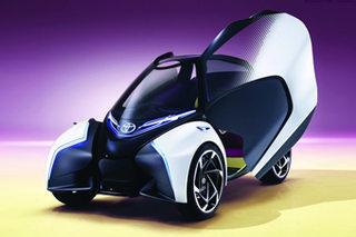 丰田电动概念车专利图 配自动驾驶系统
