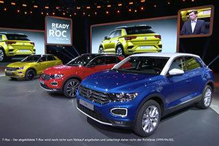 大众I.D.家族新车集中亮相 2020年上市