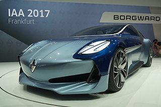 宝沃全新概念车全球首发 致敬经典车型