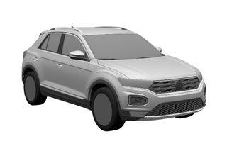 一汽-大众首款SUV申报图曝光 明年上市