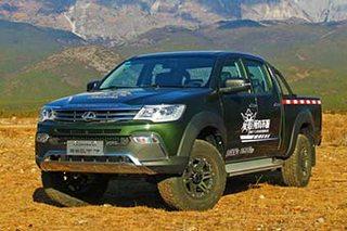 猎豹CT7皮卡汽油版车型上市 售7.98万起