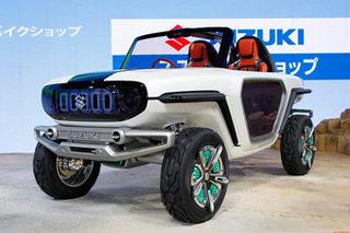铃木全新概念SUV正式发布 搭纯电动系统