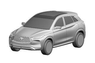 英菲尼迪全新QX50专利图 将于明年上市