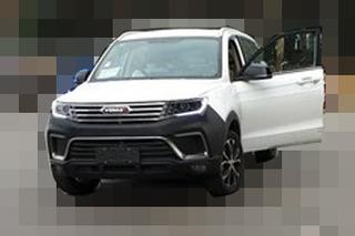 野马首款小型SUV最新谍照 采用悬浮式车顶