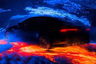 将亮相日内瓦 奔驰AMG GT四门版预告图发布