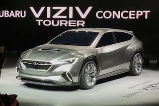 造型很科幻 斯巴鲁VIZIV Tourer概念车亮相