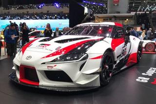 丰田全新Supra赛车正式亮相 搭宝马3.0T引擎