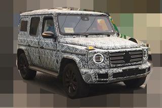换代奔驰G级国内最新谍照 车身宽度大幅增加