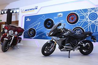 汽车/摩托两不误 米其林摩托车轮胎全系体验