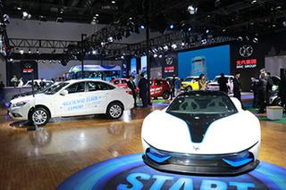 北京汽车将打造驾享新生态 3款新车正式亮相