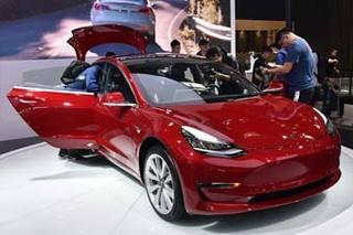 特斯拉Model 3中国首发 有望明年开始交付