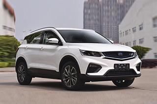 """吉利全新小SUV或命名""""星越"""" 将于第4季度上市"""