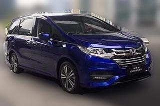 广汽本田新款奥德赛路试照片曝光 预计7月15上市