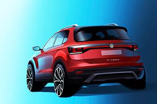 大众将推出最小SUV T-Cross今年秋天正式发布