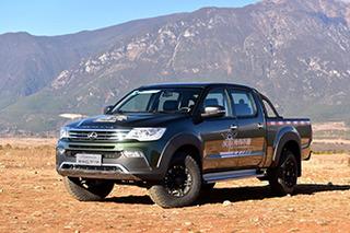 猎豹皮卡CT7新增两款车型 售价8.98-11.38万元