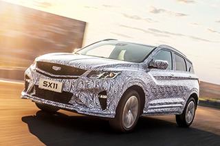 内部代号SX11 吉利全新BMA架构首款SUV曝光
