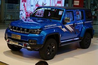 北京BJ40 PLUS环塔冠军版上市 售价为19.98万元