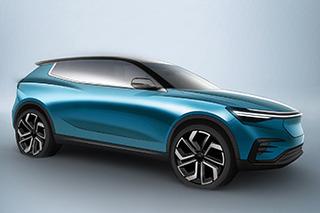 ENOVATE首款车型官图今日发布 定位中型纯电SUV