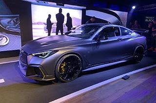 英菲尼迪PROJECT BLACK S亮相 融入大量F1科技